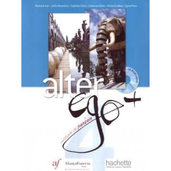 ALTER EGO PLUS 4 - METHODE ( ELEVE ) ED. AF - ED. HACHETTE