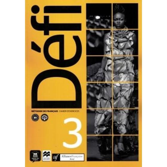 ALIANCA FRANCESA - DEFI CAHIER D'EXERCICES 3 - ED. DIM - MAC