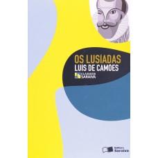 OS LUSÍADAS - CLÁSSICOS - LUIS DE CAMÕES - EDITORA SARAIVA