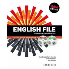 ENGLISH FILE ELEMENTARY MULTIPACK A - 3ED - ED. OXFORD