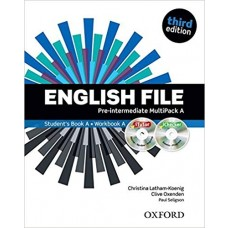 ENGLISH FILE - PRE INTERMEDIATE MULTIPKACK B 3ED - ED. OXFORD