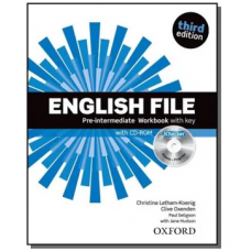 ENGLISH FILE PRE INTERMEDIATE - WORKBOOK - THIRD EDITION - ED. OXFORD