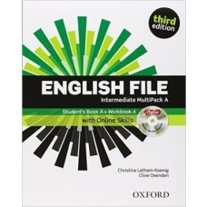 ENGLISH FILE INTERMEDIATE MUTIPACK A - THIRD EDITION - SKILLS - OXFORD