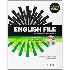 ENGLISH FILE INTERMEDIATE MUTIPACK B - THIRD EDITION - SKILLS - EDITORA OXFORD