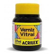 VERNIZ VITRAL 37ML AM. OURO 505 - ACRILEX