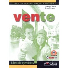 VENTE 1 LIBRO DEL EJERCICIOS - ED. EDELSA