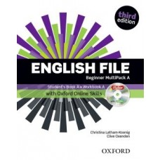 ENGLISH FILE BEGINNER MUTIPACK A - WITH iTUTOR AND ONLINE SKILLS - THIRD EDITION