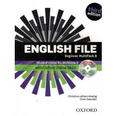 ENGLISH FILE BEGINNER MULTIPACK B - WITH iTUTOR AND ONLINE SKILLS - THIRD EDITION - EDITORA OXFORD
