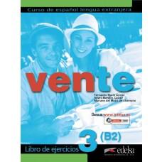 VENTE 3 LIVRO DEL EJERCICIOS - ED. EDELSA
