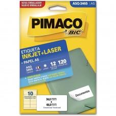ETIQ. BR. 12F. INKJET+LASER - PIMACO