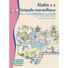ALADIM E A LÂMPADA MARAVILHOSA - REENCONTRO INFANTIL - EDITORA SCIPIONE