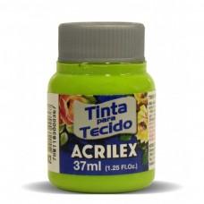 TINTA P/ TECIDO FOSCA 37ML VERDE MACA 802 - ACRILEX