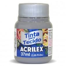 TINTA P/ TECIDO FOSCA 37ML CINZA 933 - ACRILEX