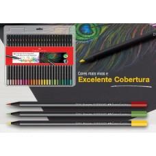 ESTOJO ECOLAPIS DE COR SUPERSOFT 50 CORES 120750SOF - FABER