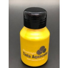 TINTA AQUACOLOR MET.60ML AM. OURO  - SILVERBRIGHT