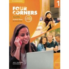 FOUR CORNERS 1 SB W/ONLINE SELF STUDY AND ONLINE WB 2ED