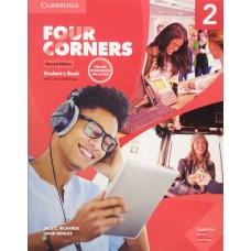 FOUR CORNERS 2 SB W/ONLINE SELF STUDY AND ONLINE WB 2ED