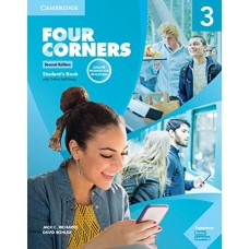 FOUR CORNERS 3 SB W/ONLINE SELF STUDY AND ONLINE WB 2ED