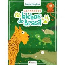 ALMANAQUE BICHOS DO BRASIL - AUT.: ROSANE - ED. MODERNA