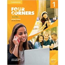 FOUR CORNERS 1 SB W/ONLINE SELF STUDY 2ED - ED. CAMBRIDGE