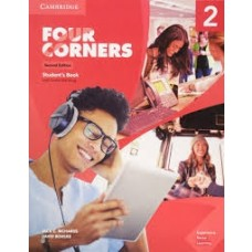 FOUR CORNERS 2 SB W/ONLINE SELF STUDY 2ED - ED. CAMBRIDGE