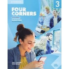 FOUR CORNERS 3 SB W/ONLINE SELF STUDY 2ED - ED. CAMBRIDGE