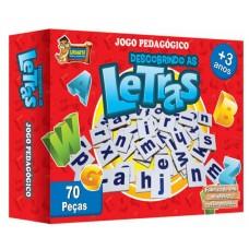JOGO PEDAGOGICO DESCOBRINDO AS LETRAS 3790 - URIARTE