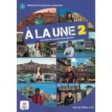 A LA UNE 2 - A1-A2 - LIVRE DE L'ELEVE + CD - ED. DIFUSION