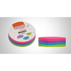 BLOCO SMART NOTES ROUND 70X70MM COLOR BA7001 - BRW