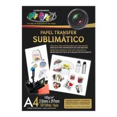 PAPEL TRANSFER SUBLIMATICO A4 100G 100 FLS - OFF PAPER