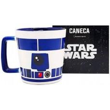 CANECA BUCK 400ML R2D2 STAR WARS 10023507 - ZONA CRIATIVA