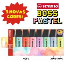 ESTOJO BOSS TONS  PASTEIS C/ 8 UNID  76.4702 - STABILO