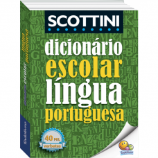 SCOTTINI - DICIONARIO ESCOLAR LINGUA PORTUGUESA - TODOLIVRO