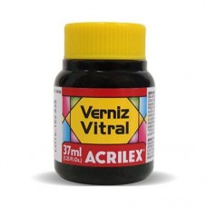 VERNIZ VITRAL 37ML CORAL 586 - ACRILEX